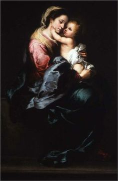 Virgin and Child - Bartolome Esteban Murillo