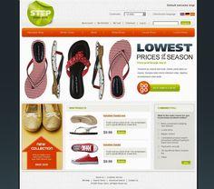 Shoe Store Magento Theme