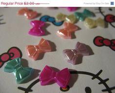 Summers End Sale 12 Pretty Little Pearl BowTie by LunasSecrets, $1.60