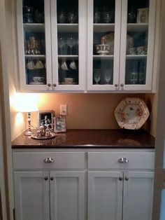 Ikea Cabinet Built In For Section Near Dining Room