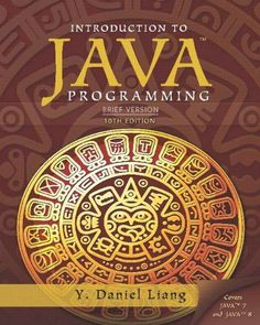Download solution manual for introduction to java programming 10th introduction to java programming brief version 10th edition fandeluxe Choice Image