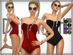 Bandeau Swimsuit  Found in TSR Category 'Sims 4 Female Swimwear'