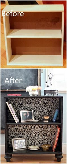 Funiture Makeovers: Blah Bookshelf To Ballards Knocknoff.