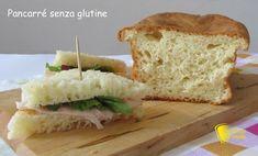 Pancarrè senza glutine per tramezzini ricetta facile il chicco di mais