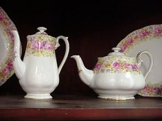 Royal Albert Serena ... got the coffee pot, one day the tea pot