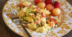 Barefeet In The Kitchen: Smoked Salmon Scrambled Eggs