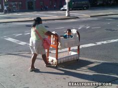 If you think this a baby stroller~