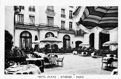 The Cour Jardin in the 60s!