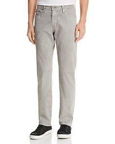 2062dfe2 AG Graduate Slim Straight Fit Jeans in Sulfur Platinum Men - Bloomingdale's