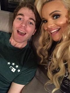 my bf: who is ur favorite person in the world? me: probably have to be a tie between trisha paytas and shane dawson. my bf: oh. Shane Dawson And Ryland, Jason Nash, Ryan Ashley, Trisha Paytas, Real Queens, Best Youtubers