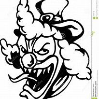 image result for scary clown coloring pages printable