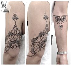 Mirja Fenris Tattoo : back arm