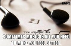 Music quote via www.IamPoopsie.com
