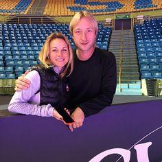 Katia Gordeeva and Evgeny Plushenko