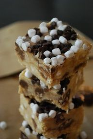 No bake SMores Bars