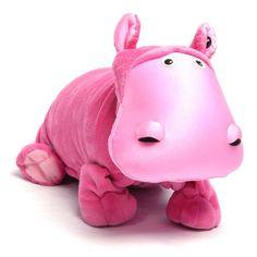 Zoobies Hada the Hippo Plush Blanket Pet