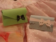 Mothers Day Purses Green and Blue