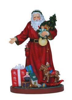 Pipka Santa A Gift to You Santa 7121209 Reflections of Christmas Damaged Box | eBay