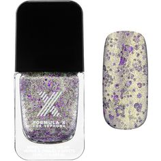 Formula X Sparklers – Nail Polish Effect ($13) ❤ liked on Polyvore featuring beauty products, nail care, nail polish, nails and formula x nail polish