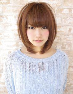 Spring good impression style (NB-426) / spring good impression style (NB-426) | Hair Styles | [beauty salon in Ginza] AFLOAT JAPAN / Float [Japan Chuo-ku, Tokyo]