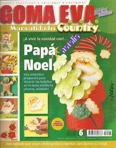 Manualidades navideñas en goma eva