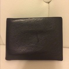 Vintage Coach 66 Water Buffalo Black Men's Wallet 1960's 1970's #Coach