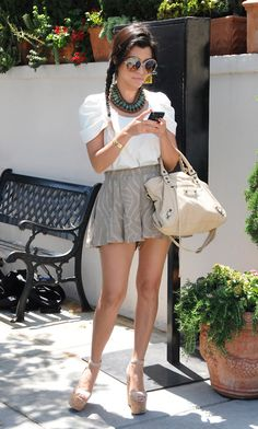 shes so cute. loving these wedges! I would be gargantuan.