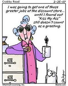 Maxine's Jokes   Maxine jokes..... - Birds & Blooms Community