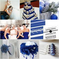 Цветовая гамма для зимней свадьбы!