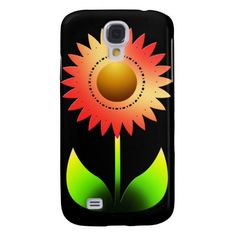 Sunflower Style Galaxy S4 Cases