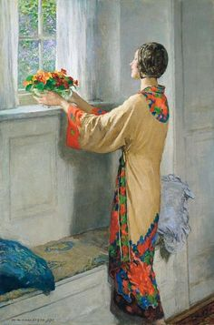 A New Day by William Henry Margetson (1861 - 1940)