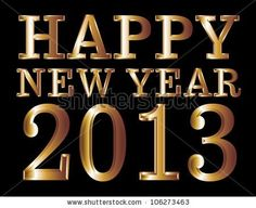 Happy New Year. May blessings abound for the coming new year.
