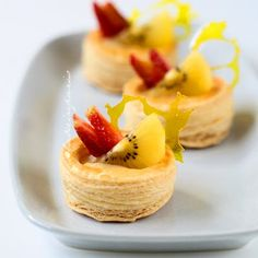 Puff Pastry. something like this but less pretentious.