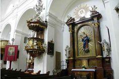 Die Kanzel in der Kirche