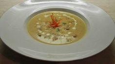 Velvet chicken soup.