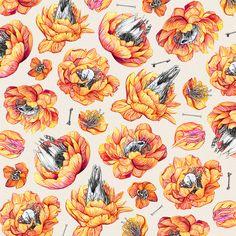 PICTTA - New skull floral pattern