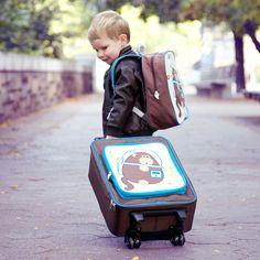 46692618b05d Dieter the Space Monkey Wheelie Bag  Official Beatrix New York Site Kids  Travel Activities
