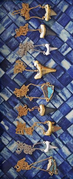 hammered gold, natural objects, blue  wishlist: kei