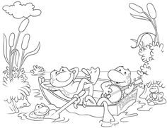 Here are the Awesome Ozie Boo Colouring Pages. This post about Awesome Ozie Boo Colouring Pages was posted under the Coloring Pages . Animal Coloring Pages, Coloring Book Pages, Printable Coloring Pages, Coloring For Kids, Free Coloring, Embroidery Patterns, Hand Embroidery, Frog Illustration, Digital Stamps