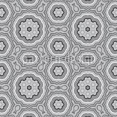 Toll! Florale Gotik-Ornamente in monochromer Kaleidoskop-Optik. design by matthias hennig ©2014