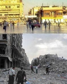 Once Syria's largest city, Aleppo has been the worst-hit city in the country since the Battle of Aleppo began in 2012 as part of the ongoing Syrian Civil W