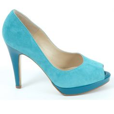 TURQUOISESHOES BOOTS | Peter Kaiser Patu high heel evening shoes in turquoise | Peep toe ...
