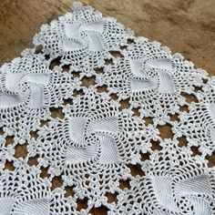 Doily knitted crochet...  for home decor by JunqueTreasures