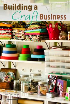 Building a Craft Business - WAHM success for homemade or etsy type sales set ups.