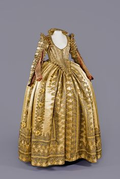 Fripperies and Fobs — Ceremonial dress of Magdalena Sibylla of Prussia,...