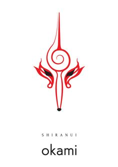minimalist okami shiranui <3