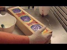 Making Rainbow Soap - YouTube