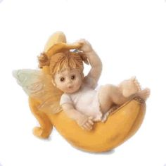 On Banana Fairie - From Series One of the My Little Kitchen Fairies collection