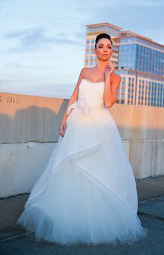 Pima Ballerina-Coastal Virginia Bride Rivini Paulette wedding dress from privee bride of ghent norfolk