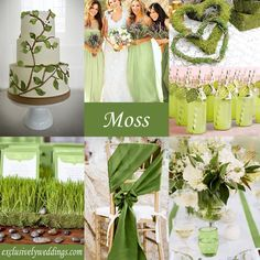 wedding colors | is a color that is halfway between green and yellow. It is not a color ...